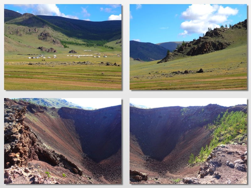 a crater mongolia