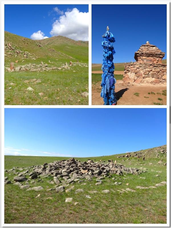mongolian burial mounds