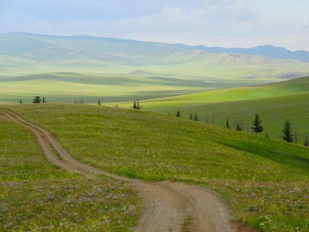 mongolian steppe landscape 2