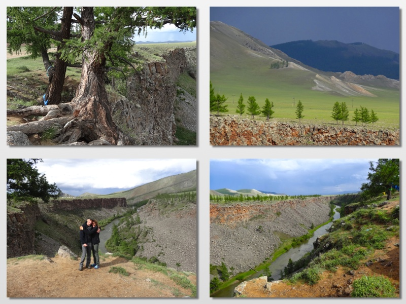 rock canyon mongolia