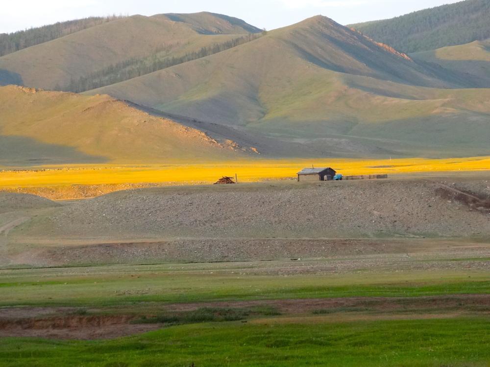 sunset happiness village mongolia
